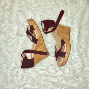 TOMS WEDGE SANDLE!